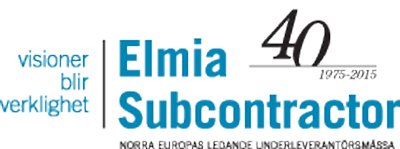 Elmia-subcontractor-40-ars-logotype