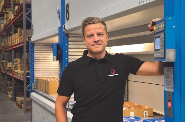 Anders Snäckerström VD Schuchardt Maskin
