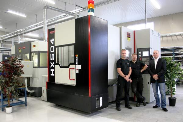 Quaser horisontell flerop till BT-CNC Lego AB