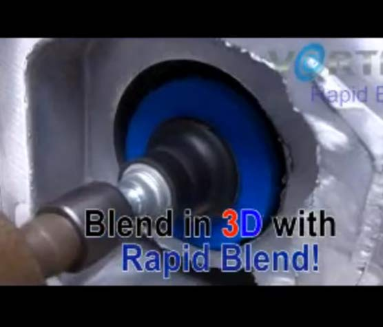 Blend in 3D with Rapid Blend