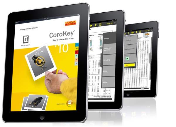 Llanserar sin senaste innovation, CoroKey för iPad