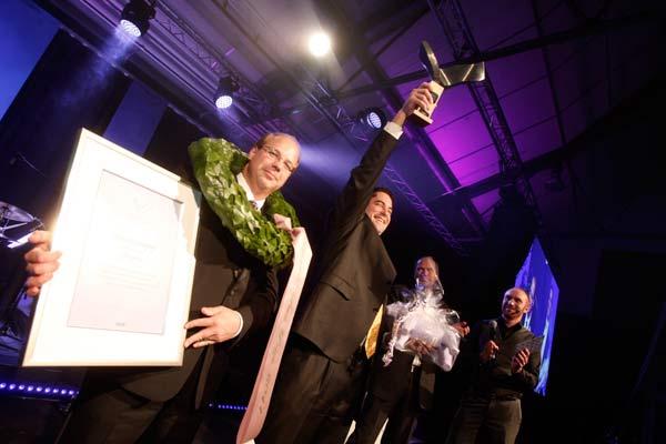 John Deere vinner Swedish Steel Prize 2011