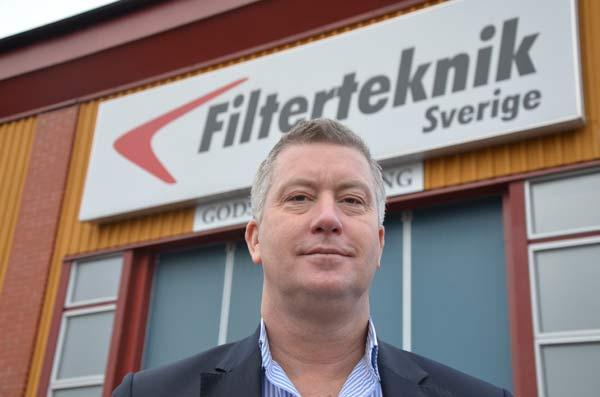 Ny försäljningschef på Filterteknik