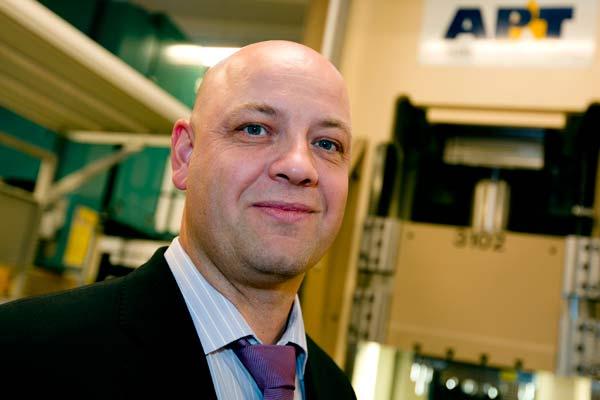 Bang & Olufsen i samarbete med AP&T