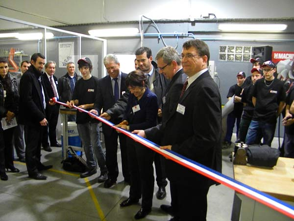Haas Europe öppnar sitt 12:e HTEC-center på 12 månader