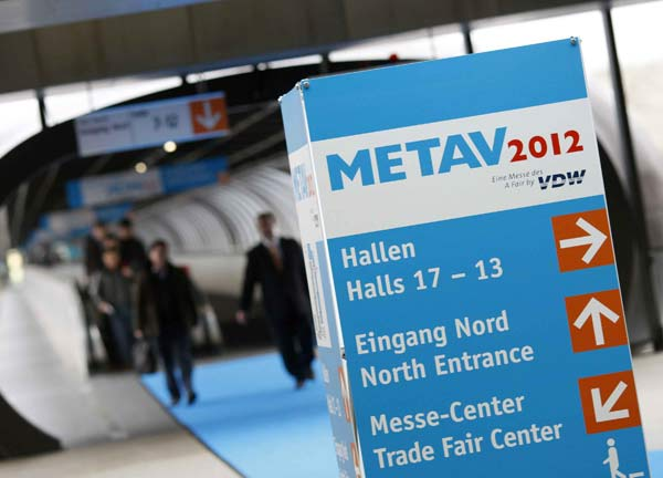 METAV 2012 is showing the flag – Exhibitors gratified by healthy demand