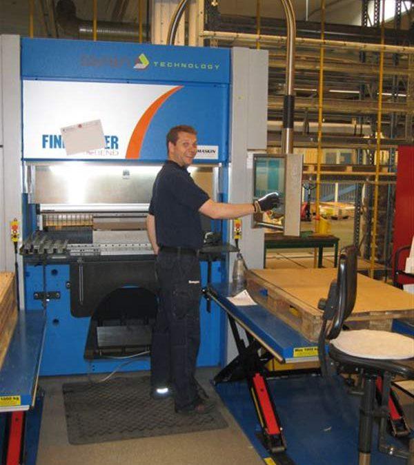 Swegon investerar i servoelektrisk kantpress