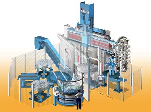 Vertikal svarv från Respond tillverkar pumpar hos Xylem
