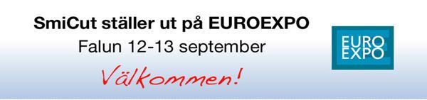 SmiCut ställer ut på EUROEXPO