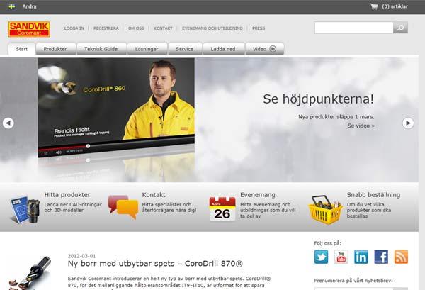 Verktygsbolag lanserar en ny webbplats