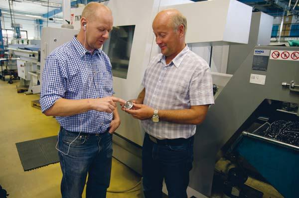 Svarvspecialisterna i Karlskoga ser framåt