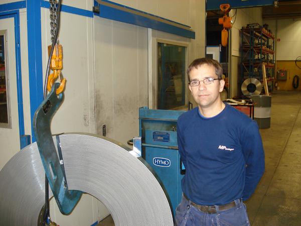 MP Bolagen investerar i Hanteringsutrustning