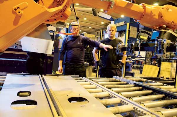 Snabb modernisering lyfte fabriken