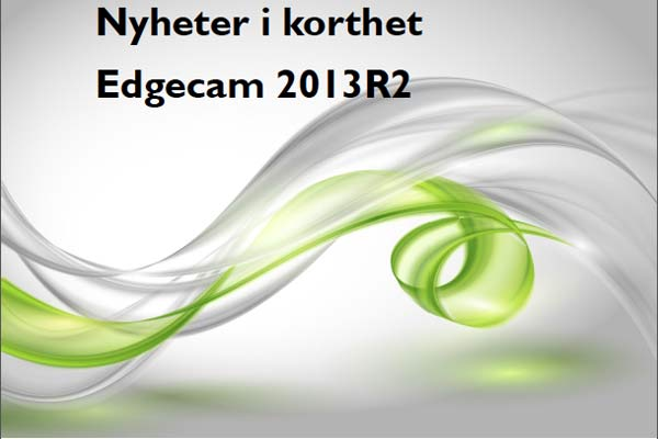Edgecam-2013R2