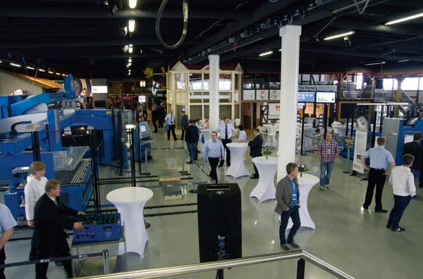 Välbesökt när Prima Power öppnade sin fabrik