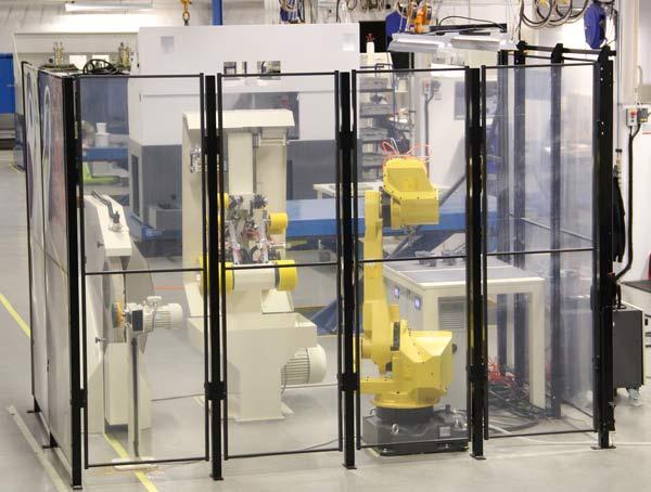 Se komplett automatiserad robotcell på EMO