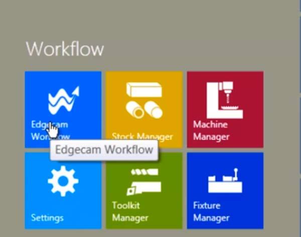 Edgecam 2013 R2 – Workflow