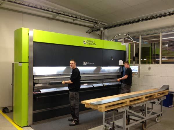 Wica Cold investerar i sin tredje E-brake…