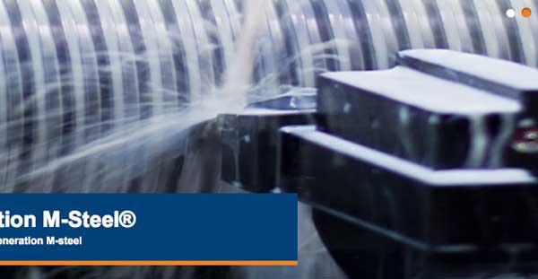 Nästa generations M-Steel minskar kundernas tillverkningskostnader