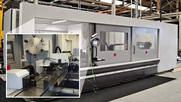 Kombinerad bearbetning i en enda maskin