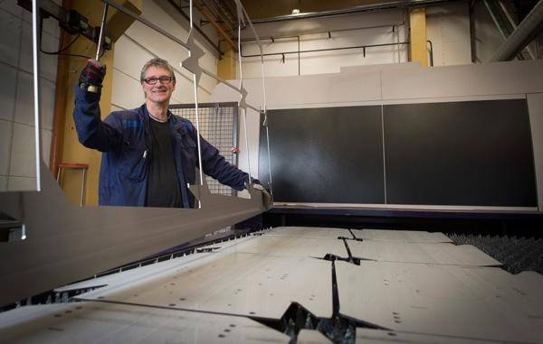 Sveriges mest erfarna laseroperatör och världens kraftfullaste fiberlaser