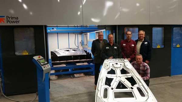 EBP i Olfoström investerar i en avancerad laser