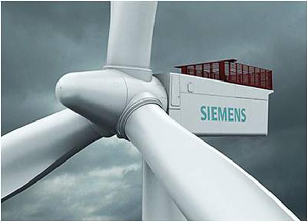 Siemens levererar vindkraftverk till Finland