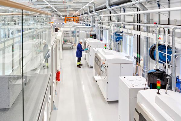 Ny 3D-verkstad för serietillverkning av metallkomponenter
