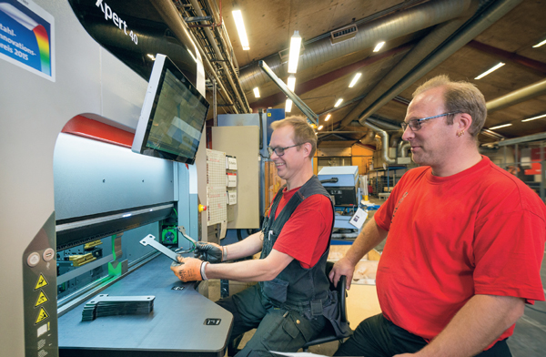 Mjukvaran knyter ihop processerna hos Stans & Press i Olofström