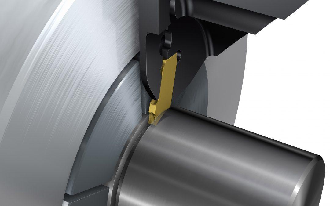 Nu är de smalaste verktygen för avstickning och djup spårsvarvning tillgängliga
