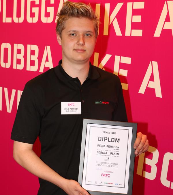 Småländska vinnare i Yrkes-SM inom CNC-fräsning och svarvning