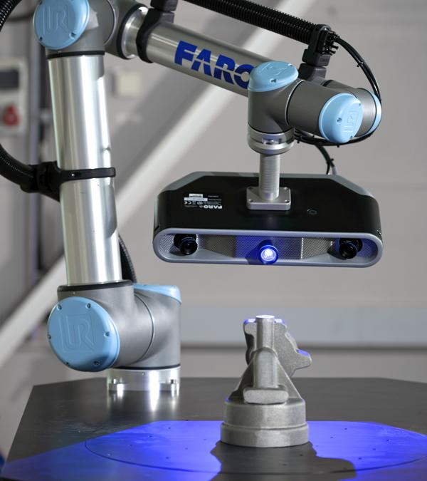 Factory Robo-Imager, den första fabriksautomationslösningen