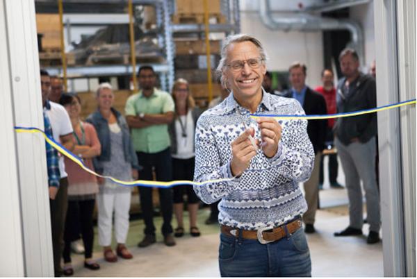 Nytt lab inom 3D-print invigt på Högskolan Väst