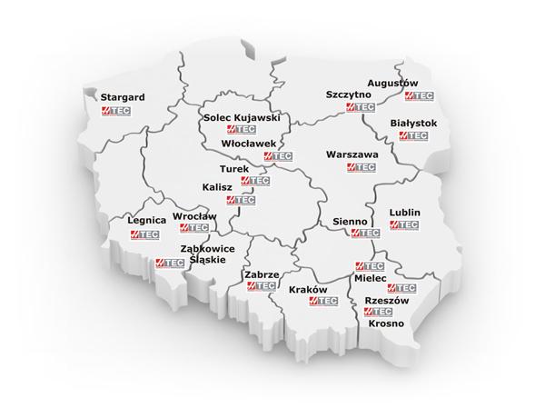 Polen har flest HTEC-skolor i Europa