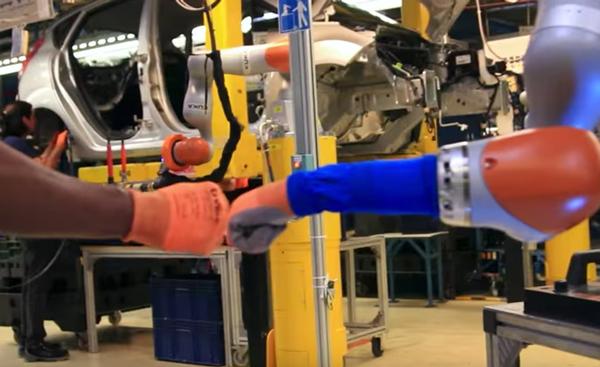 Människa och Robot stärker varandra
