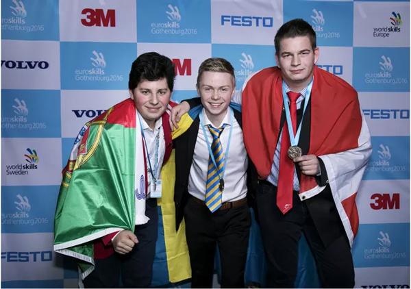 Svensk vinst i Europas största yrkestävling