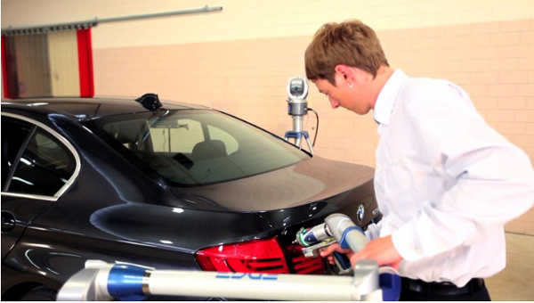 FARO solutions for inspection in R&D applications inside the automotive industry