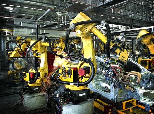 Tio gånger mer livslängd för linjära styrningar i robotsvetsning