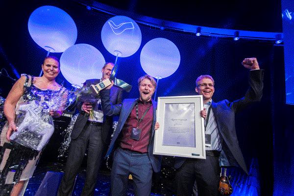 Kiruna Wagon vinner Swedish Steel Prize 2017