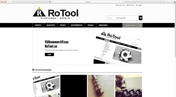 RoTool.se presenterar nytt utseende