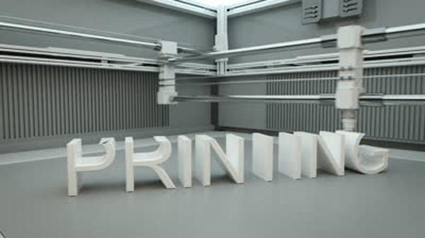 3D-printade maskindelar kan spara stora pengar
