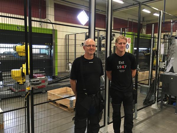 Foreums verktyg investerar i två robotiserade kantpressar