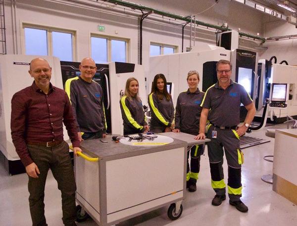 Göranssonska Skolan valde nya maskiner