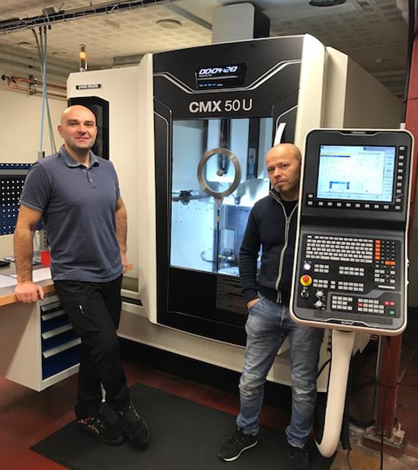 Nyligen levererades en CMX 50 U till Larssons i Bjärred