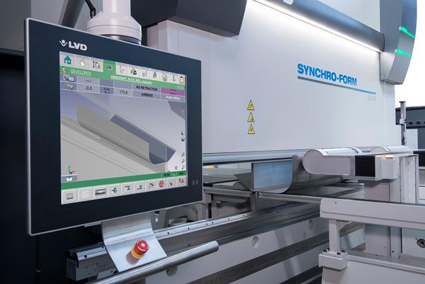 LVD offentliggör stor beställning av unik Synchro-Form kantpress