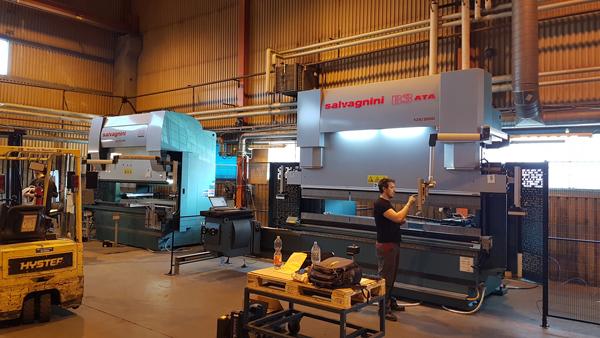 Plåtspecialisten i Arlöv investerar i en B3ATA kantpress