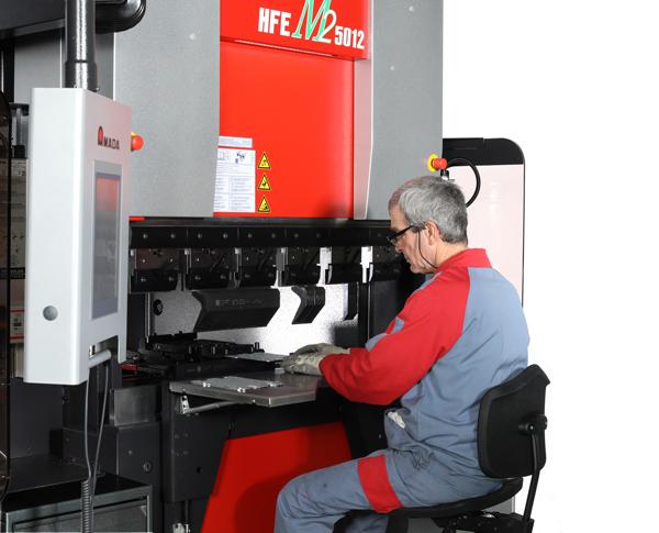 Lanserar nya ergonomiska kantpressar