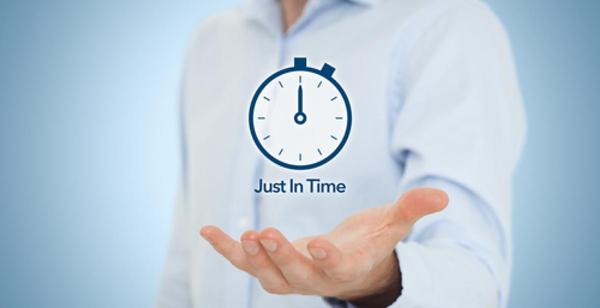 Att uppnå Just-In-Time