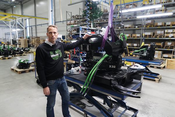 Stabil körning – framgångsreceptet för snabbväxaren Steelwrist