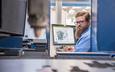 """Presenterar fler lösningar inom """"Connected Manufacturing"""""""